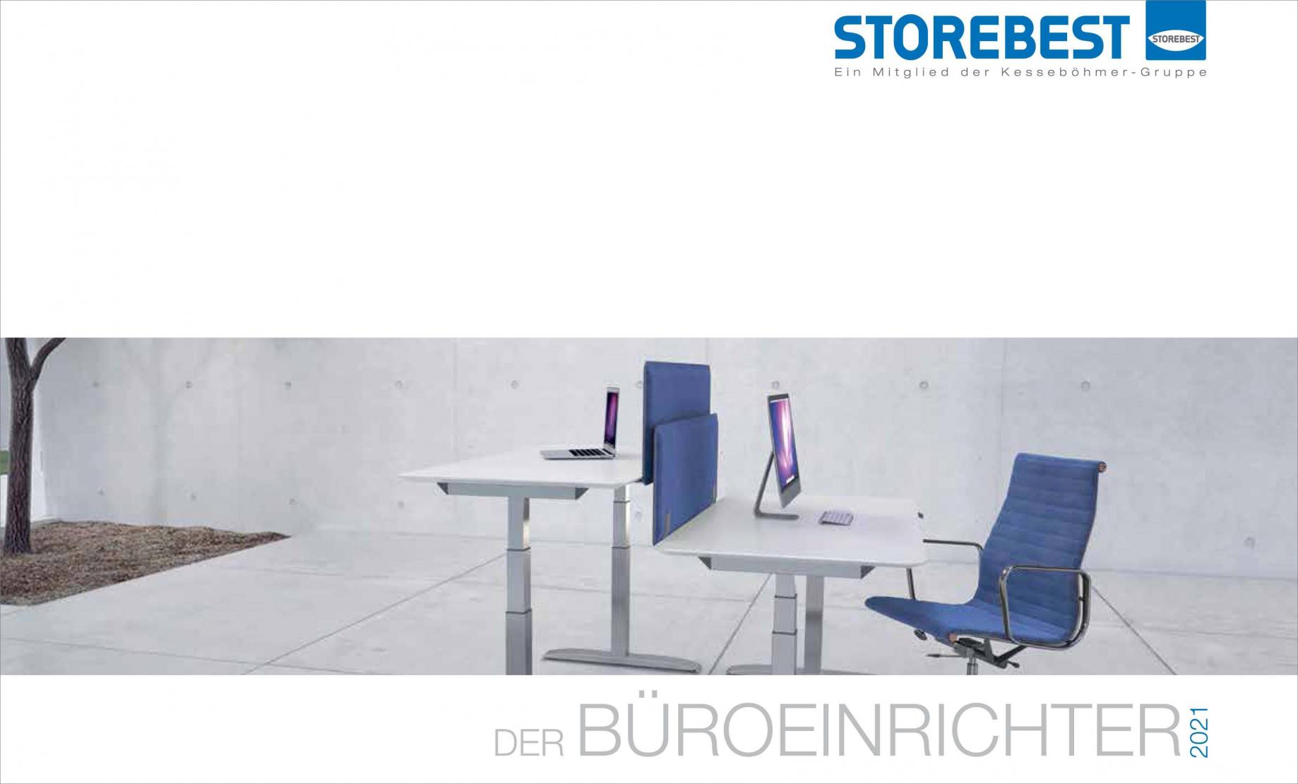 Produktkatalog STOREBEST Büroeinrichtung